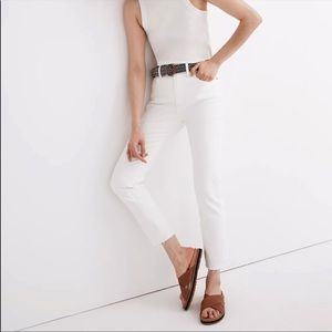Madewell Petite Perfect Vintage Jean in Tile White